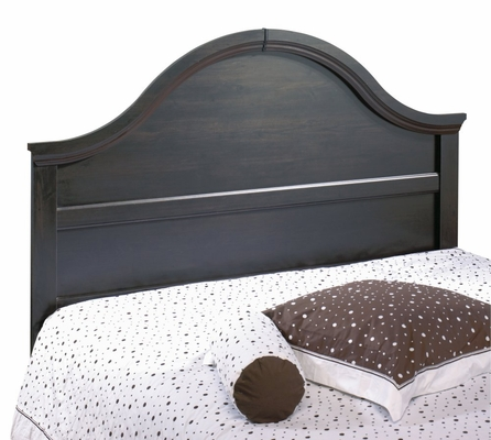 Full / Queen Size Headboard in Ebony - South Shore Furniture - 3877257