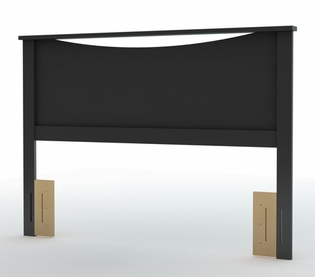 Full/Queen Size Headboard in Solid Black - South Shore Furniture - 3107270