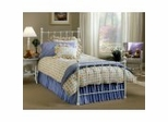 Full Size Bed - Molly Full Size Bed in White - Hillsdale Furniture