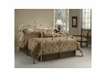 Full Size Bed - Victoria Full Size Bed in Antique White - Hillsdale