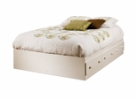 Full Size Mates Bed in Vanilla Cream - South Shore Furniture - 3210211