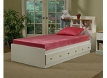 "Full Size Mattress - 7"" Sleep Science ViscoKidz Pink Memory Foam Mattress - South Bay International - VK-FMP"