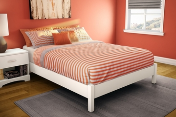 Full Size Platform Bed - Step One - South Shore Furniture - 3050204