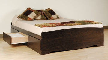 Full Size Platform Storage Bed - Prepac Furniture - EBD-5600