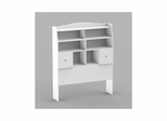 Full Size Tall Bookcase Headboard with Storage - Nexera Furniture