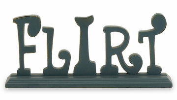 Fun Carved Word Signs (Set of 6) - IMAX - 87148-6