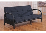 Futon Frame in Satin Black - Coaster - 2345