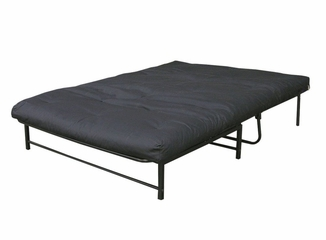 Futon with Mattress - Twin Size E-Frame Combo with Frame and Mattress - 55-3503-050