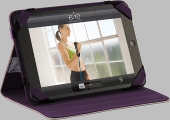 Gaiam iPad mini Multi-Tilt Folio Case - Tree of Life