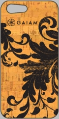 Gaiam iPhone 5 Cork Case - Filigree
