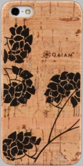 Gaiam iPhone 5 Cork Case - Hydrangea