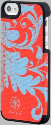 Gaiam iPhone 5 Filigree Pattern Fabric Case