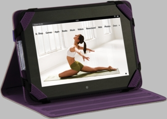 Gaiam Kindle Fire HD Multi-Tilt Folio Case - Tree of Life