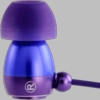 Gaiam Purple Aluminum Ear Buds