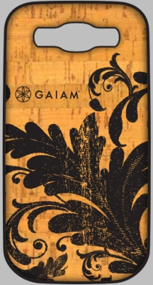 Gaiam Samsung 3 Cork Case - Filigree