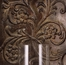 Galicia Embossed Metal and Glass Sconce - IMAX - 12246