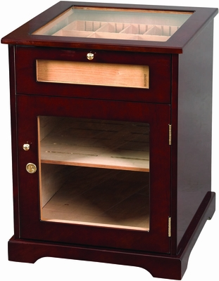 Galleria Humidor Cigar Cabinet End Table - HUM-600G