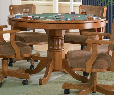 Game Table in Oak - Coaster