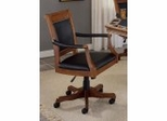 Gameroom Furniture - Kingston Square Leather Back Game Chair - 6004-801