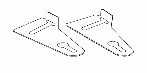 Ganging Bracket - Mayline Office Furniture - 10GABLK