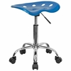 Garage Stool - Stool in Bright Blue - LF-214A-BRIGHTBLUE-GG