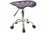 Garage Stool - Stool in Deep Blue - LF-214A-DEEPBLUE-GG