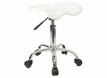 Garage Stool - Stool in White - LF-214A-WHITE-GG