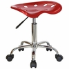 Garage Stool - Stool in Wine Red - LF-214A-WINERED-GG