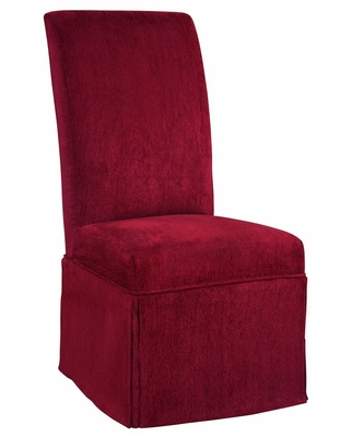 Garnet Chenille Skirted