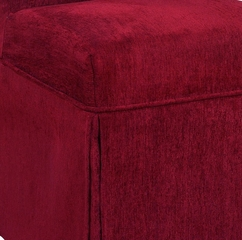 "Garnet Chenille Skirted ""Slip Over"" (Fits 741-440 Chair) - Powell Furniture - 741-200Z"