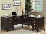 Garson L-Shaped Desk with 8 Drawers - 801011L