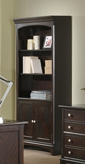 Garson Open Bookcase in Cappuccino - 801015