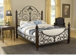 Gastone Cal King Size Bed - Hillsdale Furniture - 1606BCKR