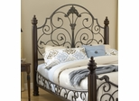 Gastone King Size Headboard with Frame - Hillsdale Furniture - 1606HKR