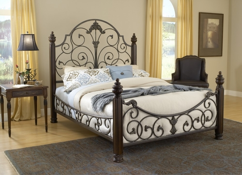 Gastone Queen Size Bed - Hillsdale Furniture - 1606BQR
