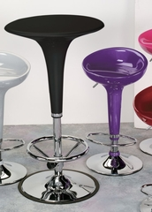 Gelato Bar Tables in Black - LumiSource - BT-GELATOLM-BK