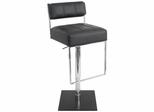 Gentry Bar Stool in Black - Lumisource - ADW-GENTRY-BK