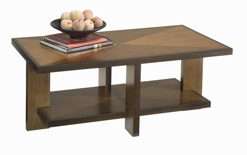 Geo Coffee Table in Walnut - Home Styles - 5539-21