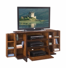 Geo Deluxe Entertainment Center in Walnut - Home Styles - 5539-120