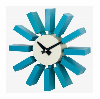 George Nelson Block Wall Clock - G80711BL
