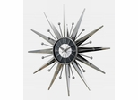 George Nelson Metal Sunray Wall Clock - SUN-2407