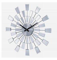 George Nelson Mirrored Pixels Wall Clock - CK1384MIRROR-20