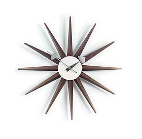 George Nelson Sunburst Clock - G81319W