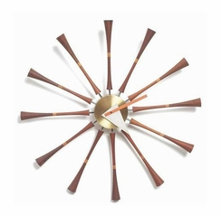 George Nelson Wooden Wall Clock - G092019