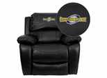 Georgia Southwestern State University Hurricanes Leather Rocker Recliner - MEN-DA3439-91-BK-41036-EMB-GG