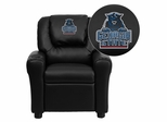 Georgia State University Panthers Embroidered Black Vinyl Kids Recliner - DG-ULT-KID-BK-40013-EMB-GG