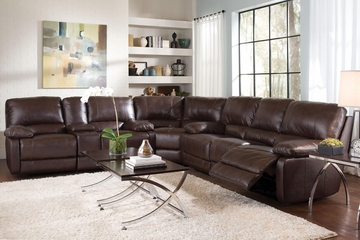 Geri Transitional Six Seat Sectional Sofa - 600021S