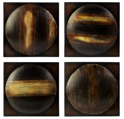 Ghana Wall Art (Set of 4) - IMAX - 12276-4