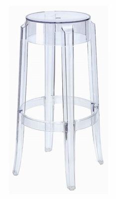Ghostly Bar Stool in Clear Acrylic - PC-502A