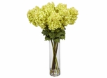 Giant Hydrangea Silk Flower Arrangement - Nearly Natural - 1223